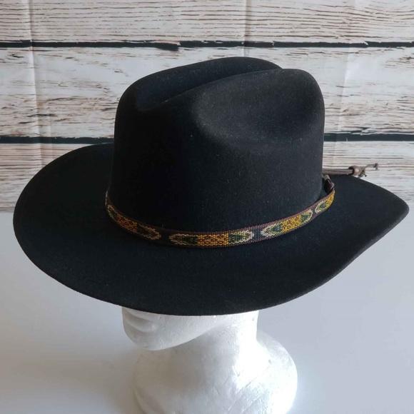 19de4e85d0af8 Baileys Other - Bailey Hopper Cattleman Poet Hat 100% Wool Felt